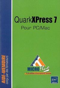 QuarkXPress 7 pour PC-Mac