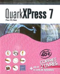 QuarkXPress 7 pour PC-Mac