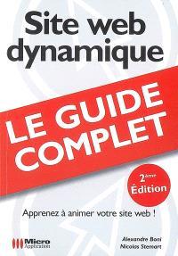 Site Web dynamique : apprenez à animer votre site Web !