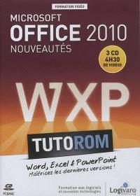 Tutorom Microsoft Office 2010 : nouveautés
