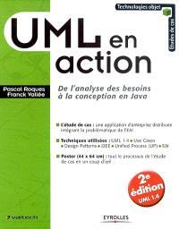 UML en action : de l'analyse des besoins à la conception en Java