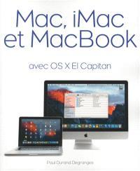 Mac, iMac et MacBook : avec OS X El Capitan