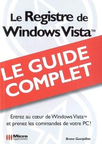 Le registre de Windows Vista