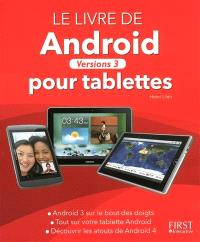Android pour tablettes : versions 3