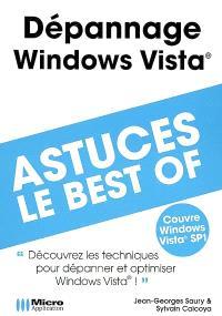 Dépannage et optimisation Windows Vista