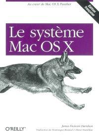 Le système Mac OS X