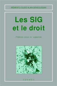 Les SIG et le droit