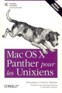 Mac OS X Panther pour les unixiens