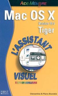 Mac OS X version 10.4 Tiger