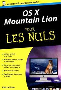 OS X Mountain Lion pour les nuls