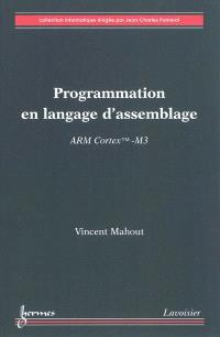 Programmation en langage d'assemblage : ARM Cortex TM-M3