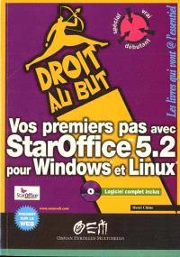 Vos premiers pas avec StarOffice 5.2 : pour Windows et Linux