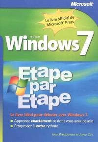 Windows 7 : étape par étape