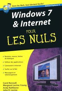 Windows 7 & Internet pour les nuls : édition Explorer 9