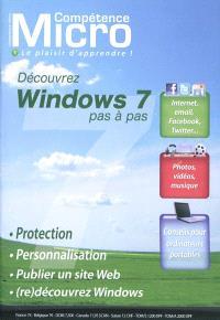 Compétence Micro. n° 1, Découvrez Windows 7 pas à pas