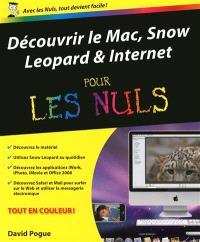Découvrir le Mac, Snow Leopard & Internet pour les nuls