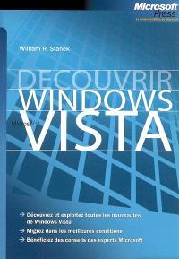 Découvrir Windows Vista