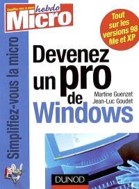 Devenez un pro de Windows