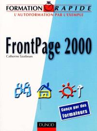 Frontpage 2000 : l'autoformation par exemple