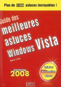 Guide des meilleures astuces Windows Vista