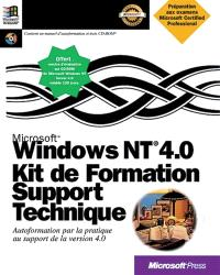 Kit de formation support technique pour Microsoft Windows NT 4.0