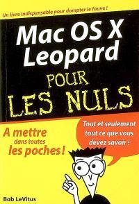 Mac OS X Leopard pour les nuls