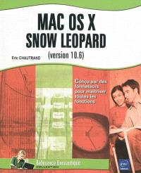 Mac OS X Snow Leopard version 10.6
