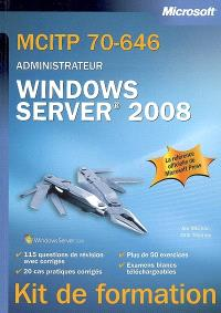 MCITP 70-646, administrateur Windows Server 2008
