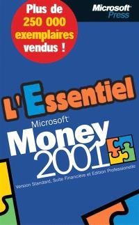 Microsoft Money 2001 : version standard, suite financière et édition professionnelle