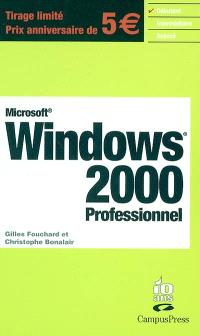Microsoft Windows 2000 professionnel