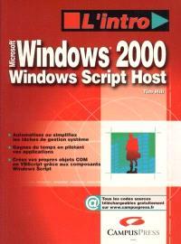 Microsoft Windows 2000, Windows Script Host