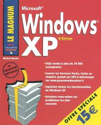 Microsoft Windows XP : couvre ses services packs