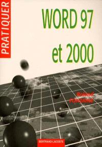 Pratiquer Word 97 et 2000 sous Windows