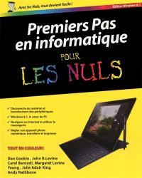 Premiers pas en informatique pour les nuls : édition Windows 8.1