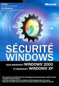 Sécurité sous Microsoft Windows 2000 et Microsoft Windows XP