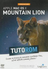 Tutorom Apple Mac OS X Mountain Lion : formation vidéo