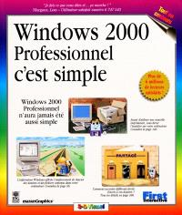 Windows 2000 professionnel, c'est simple