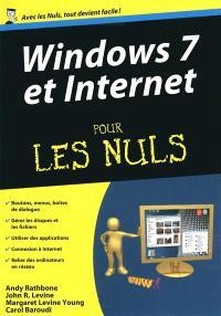 Windows 7 et Internet pour les nuls