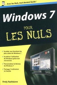 Windows 7 pour les nuls