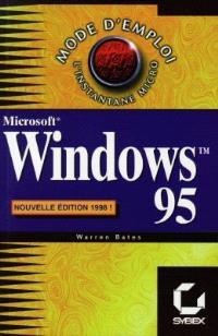 Windows 95 mode d'emploi