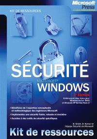 Windows Server 2003 : sécurité Windows