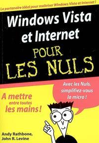 Windows Vista et Internet pour les nuls