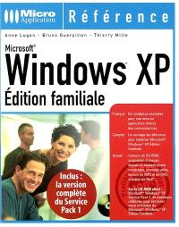 Windows XP : édition familiale