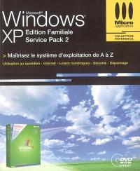 Windows XP service pack 2 édition familiale