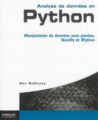 Analyse de données en Python : manipulation de données avec pandas, NumPy et IPython