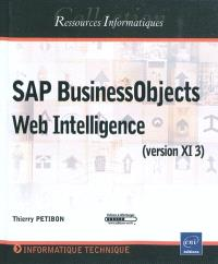 SAP BusinessObjects Web Intelligence (version XI 3)