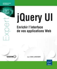 jQuery UI : enrichir l'interface de vos applications web