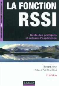 La fonction RSSI : guide des pratiques et retours d'expérience
