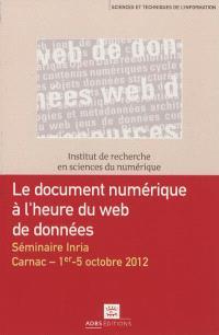 Le document numérique à l'heure du Web de données