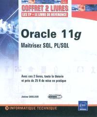 Oracle 11g : maîtrisez SQL, PL-SQL : coffret 2 livres